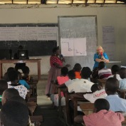 Bridget's teaching session