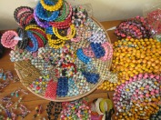 paper beads made by a women's group