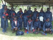 wet weather gear for CMT members