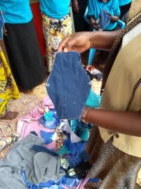 Sample reusable sanitary pad
